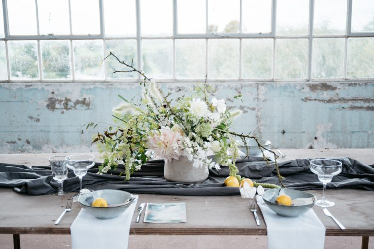 Industrial Elopement Wedding Inspiration
