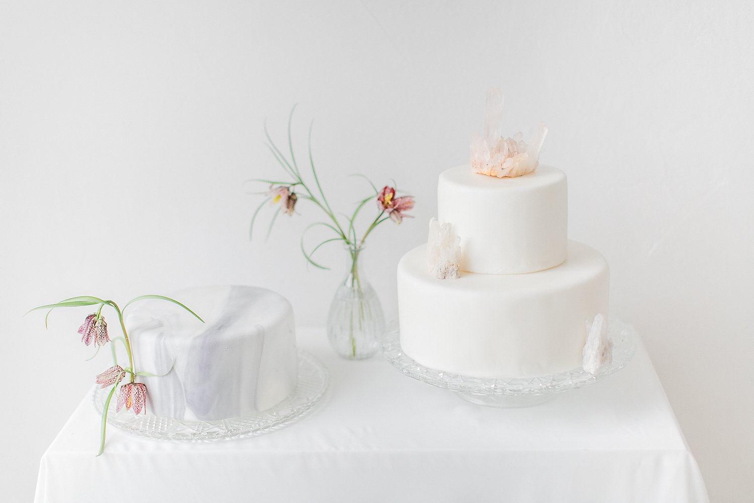 Fine Art Wedding Inspiration with Beautiful Crystals - BLOVED Blog