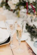 crystal wedding glassware