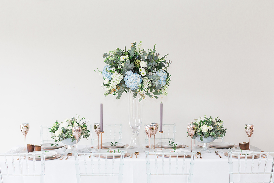 Wedding Tablescape Inspirations Mixing Modern with the Traditional ...