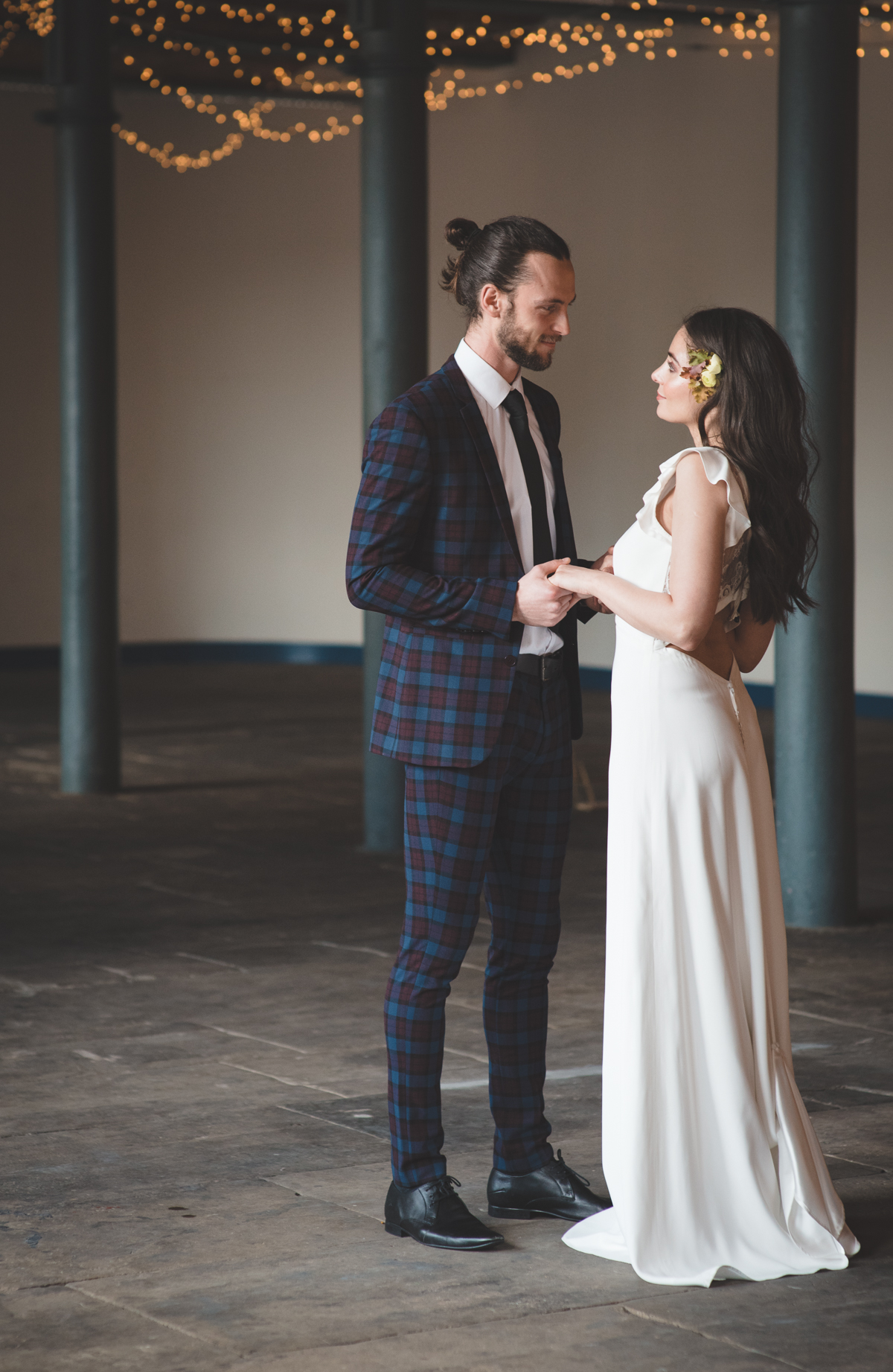 Industrial Chic Wedding Inspirations At The Arches