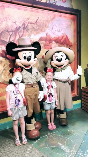 fun at disney world florida meeting minnie and mickey mouse