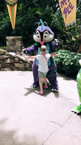 fun finding disney characters at disney world florida
