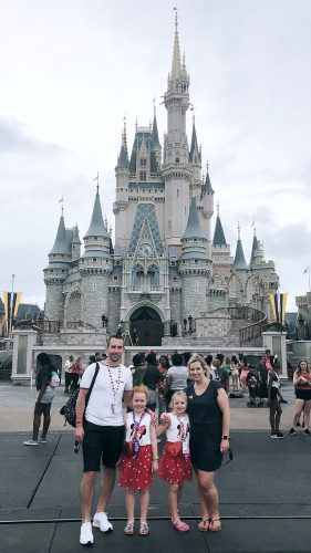 cinderella's castle at disney world florida