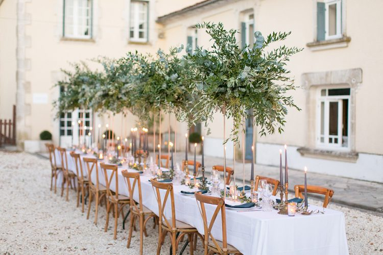 Rustic Contemporary Wedding Ideas in France