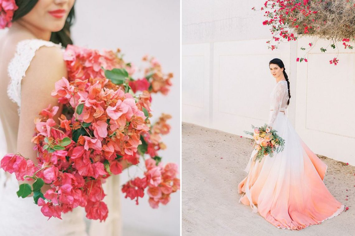Living Coral Wedding Ideas Inspired By Pantone S Colour Of