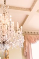 chandelier at Prestwold Hall, Midlands Wedding Venue