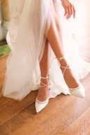 Freya Rose Besina Ivory & Lace bridal shoeshoes