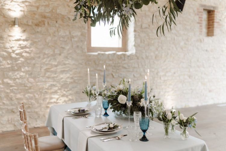 5da1393abfe76 Romantic French Style Wedding Inspirations with a Gentle Blue and White  Colour Palette