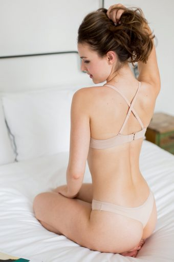 everyday lingerie nude crossback t-shirt bra wonderbra