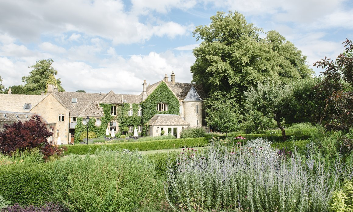 idyllic English Countryside wedding venue Lords of the Manor in the Cotswolds