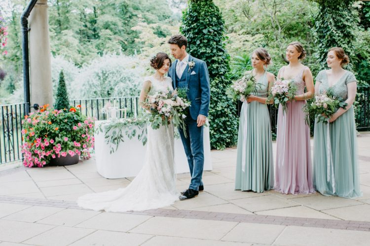 Pretty Pastel Pavilion Wedding in Harrogate Inspired by Botanicals
