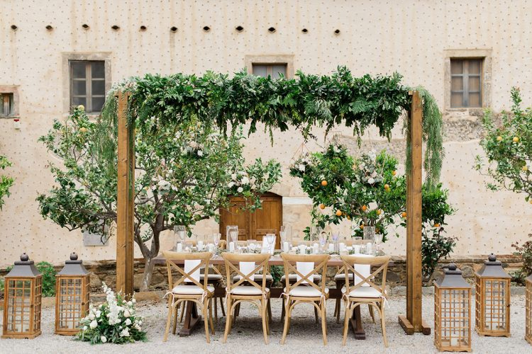 Dreamy Destination Wedding in Greece