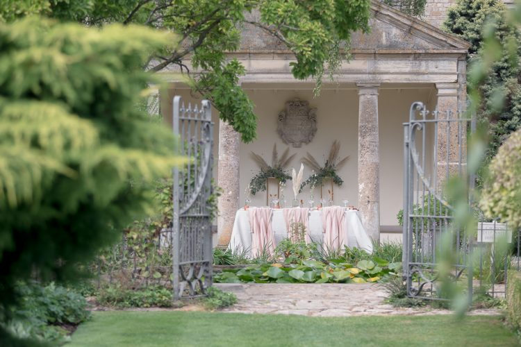 Earthy Organic Luxe Cotswolds Wedding at Barnsley House