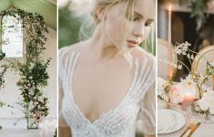 Luxe Muted green winter wedding ideas moodboard