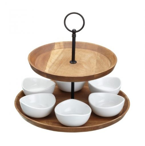 Artesà Appetiser Two Tier Serving Set at Prezola wedding gift list