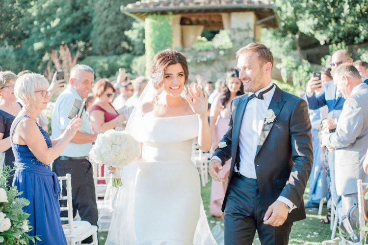 Ala & Amir's Elegant Wedding in Florence