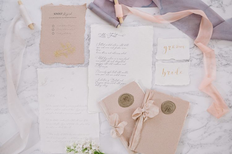 Spring Luxe Contemporary-Classic Wedding at Holbrook Manor