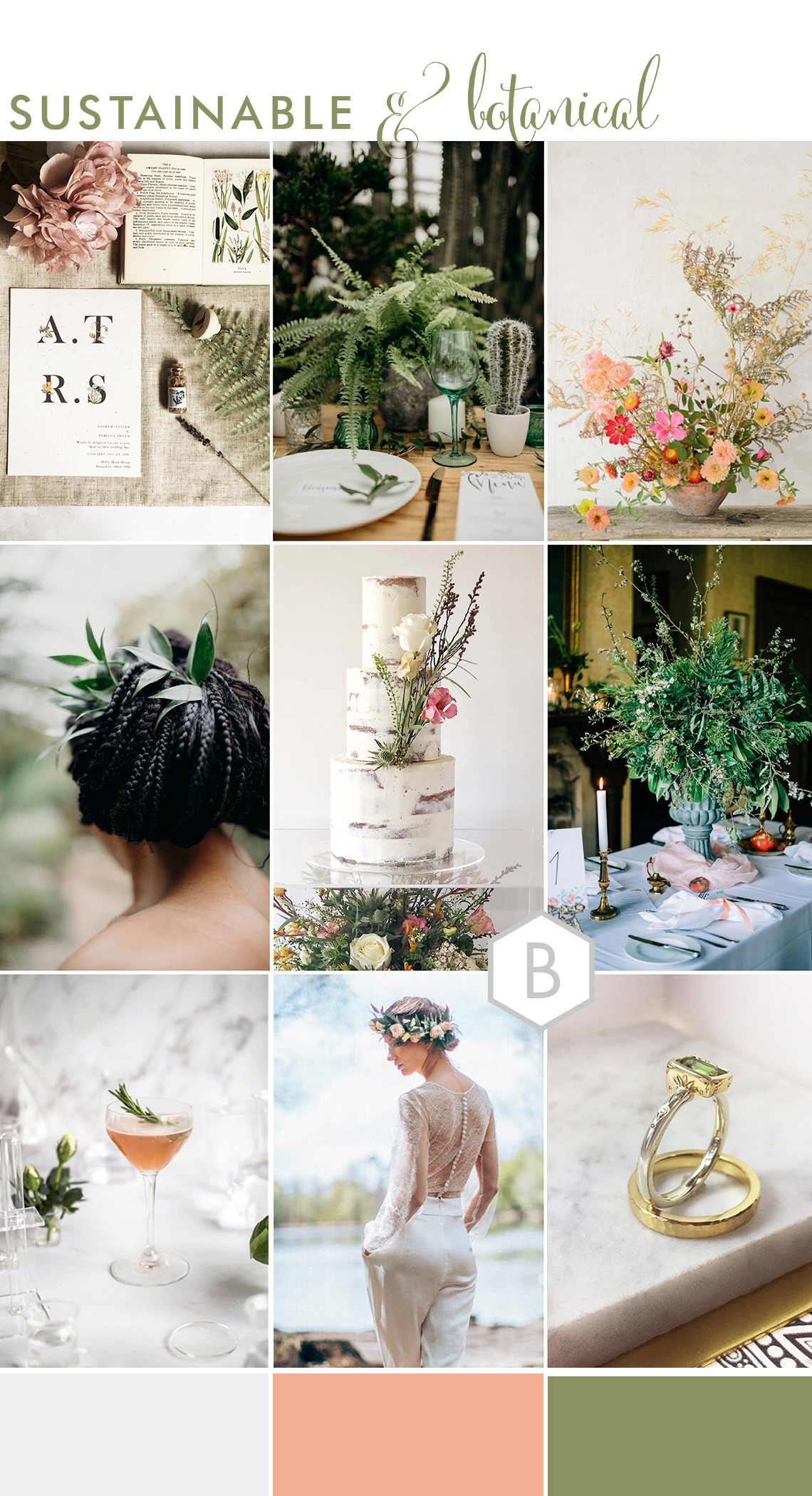 stylish sustainable wedding ideas by All Things Considered wedding planner Cambridgeshire