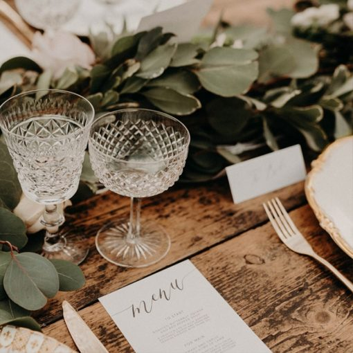 stylish sustainable wedding ideas with a botanical theme
