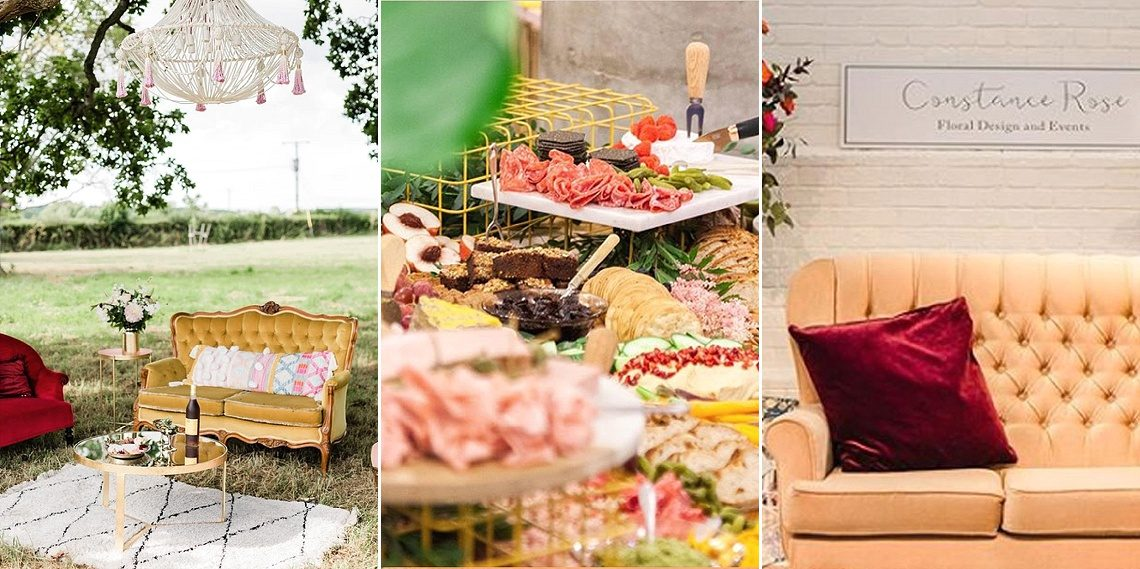 modern abstract eco friendly wedding inspiration