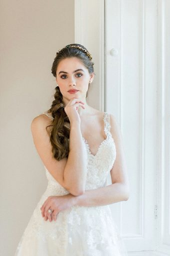 timeless romantic bridal makeup