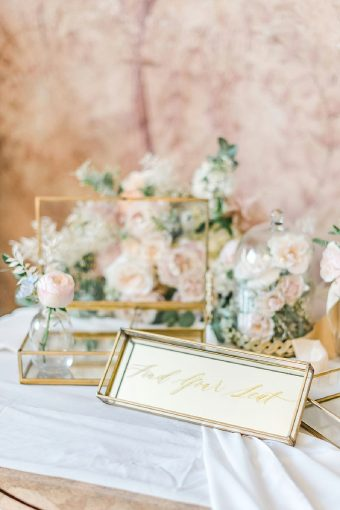 timeless romantic wedding details