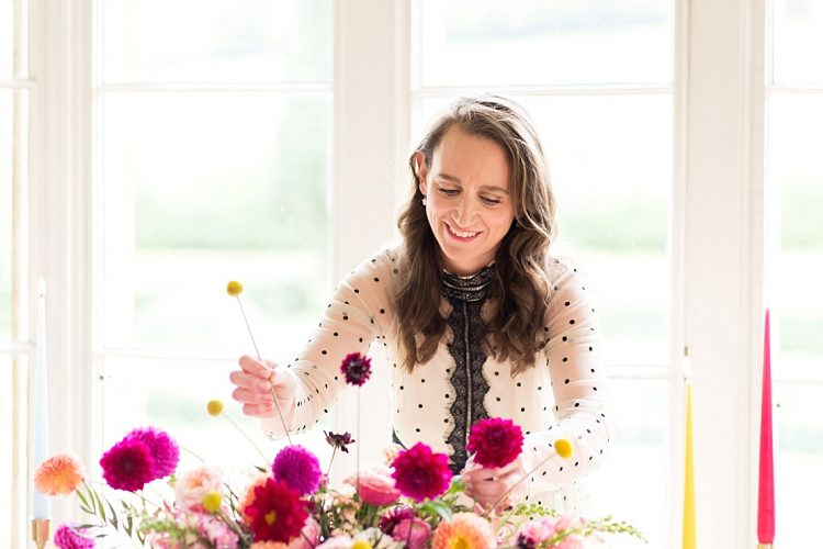 how to plan a colourful wedding with berkshire wedding planner antonia roskill honour and pop