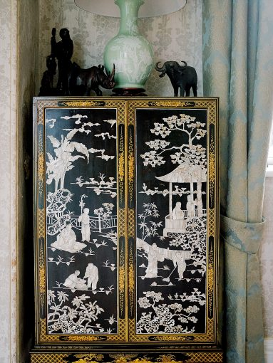 chinoiserie inspired wedding homme house