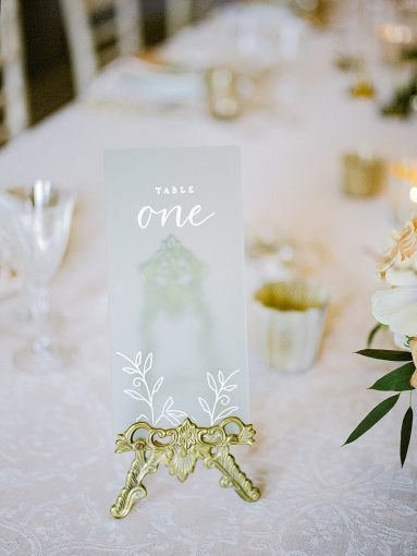chinoiserie inspired wedding acrylic menu
