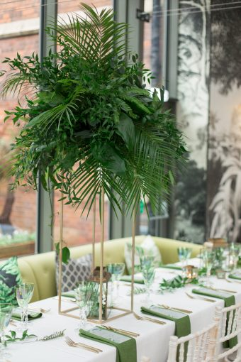 glasshouse wedding venue in the midlands