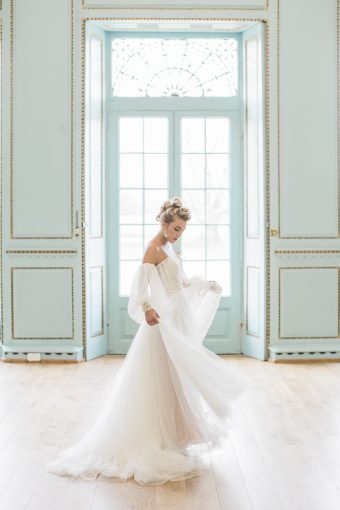 whimsical bridal dress