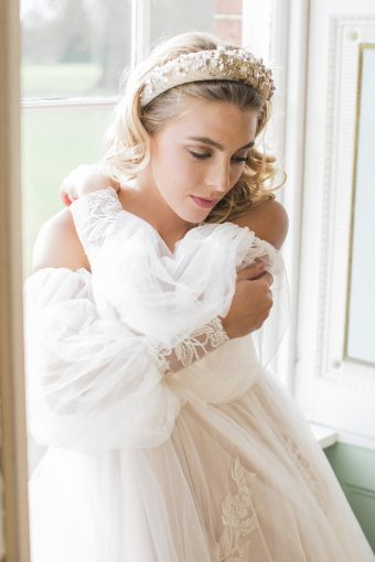 spring femininity wedding inspiration