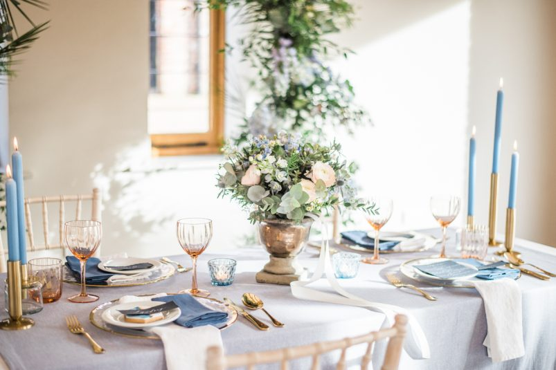 luxurious and eco-friendly wedding table