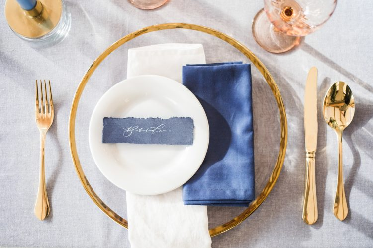 luxurious tablescape