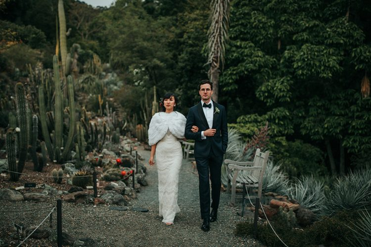 Sunshine and David's Rustic Botanical Wedding in Berkeley