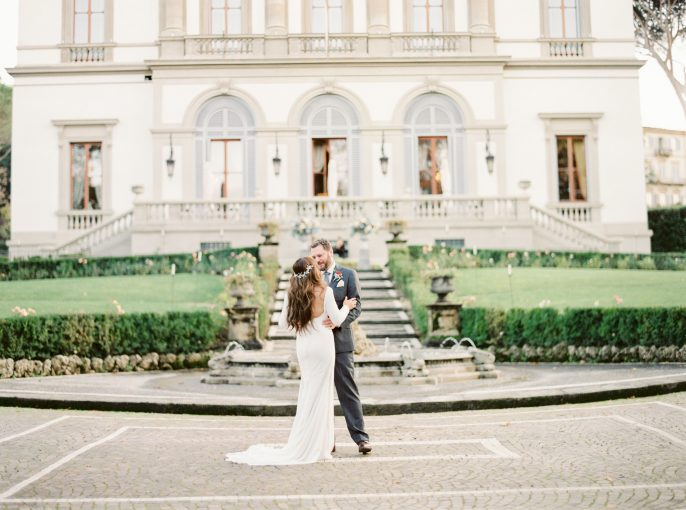 A Romantic Runaway Wedding in Italy
