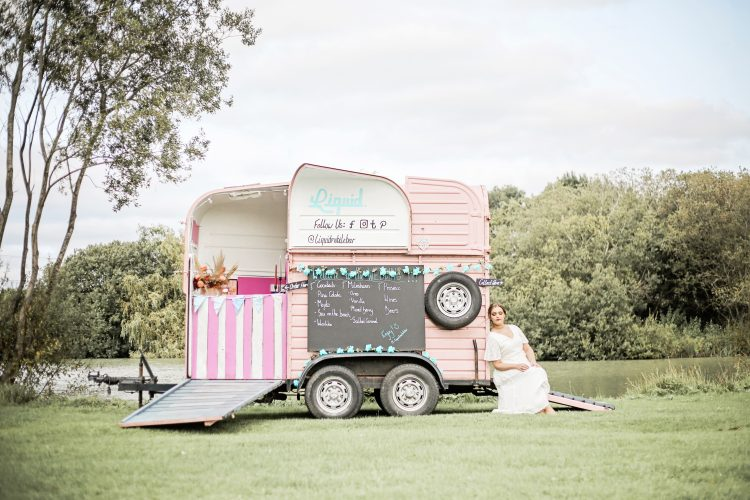 Indie Festival Wedding at the Barn at Brookend