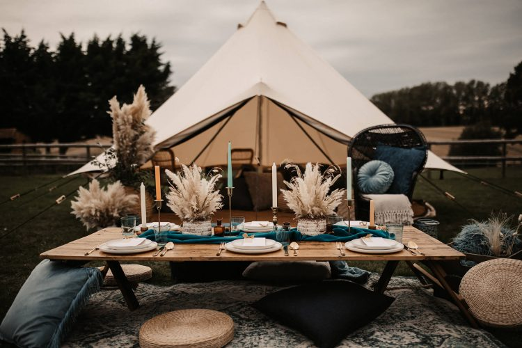 Lovers at Knockwood: The Ultimate Tipi Wedding