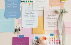Wedding Invitation Designs: Inspiration Wall