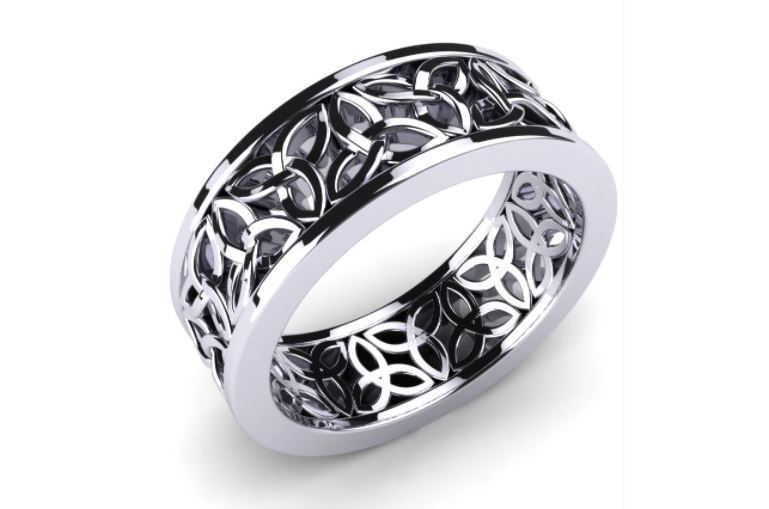 Celtic Mens Engagement Ring