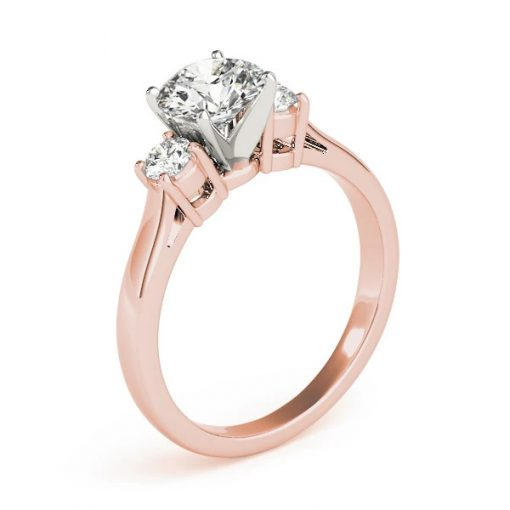 Ethical Rose Gold Engagement Ring