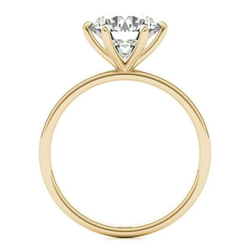 Stefano Gold Engagement Ring