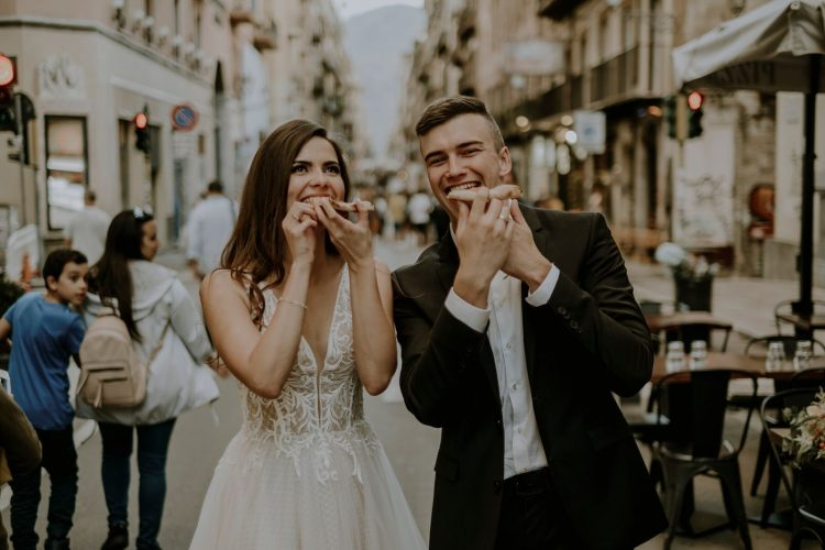 Pizza-Loving Destination Elopement in Sicily